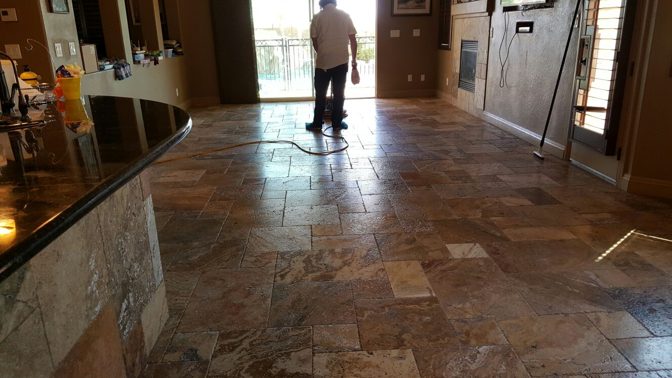 Kitchen Floor Sealing LV