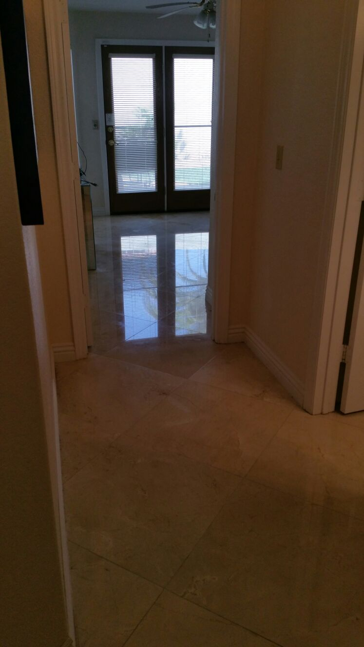 Bathroom Floor Refinishing LV