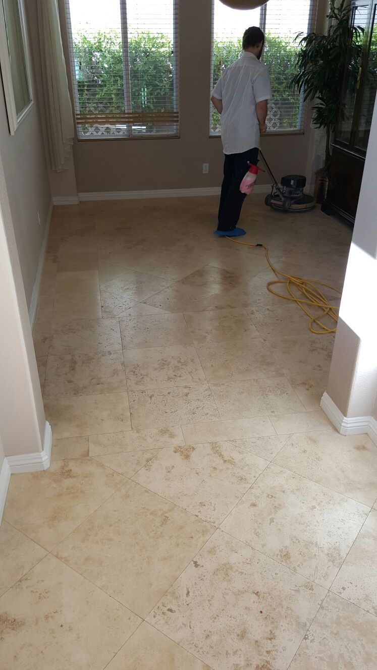 Silver State Floor Restoration - The Vistas at Summerlin, NV