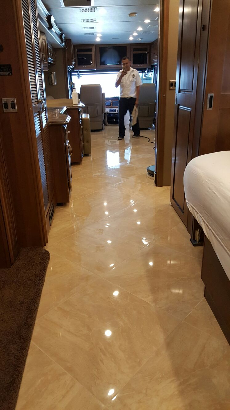 Travertine Polishing Las Vegas NV