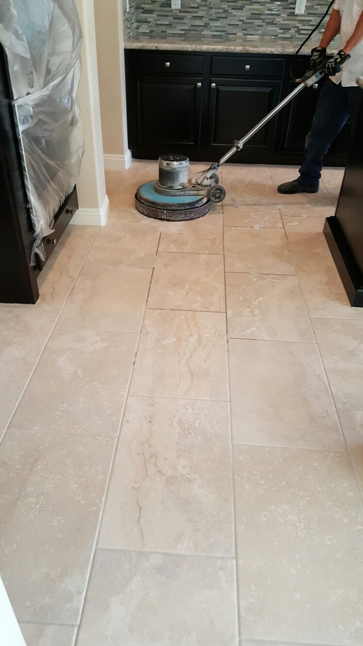 Vinyl Composite Tile Cleaning LV