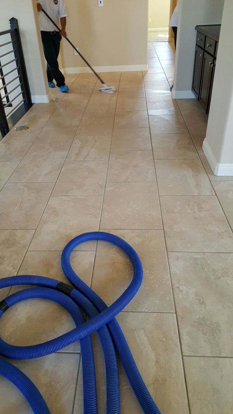 Vinyl Composite Tile Waxing LV