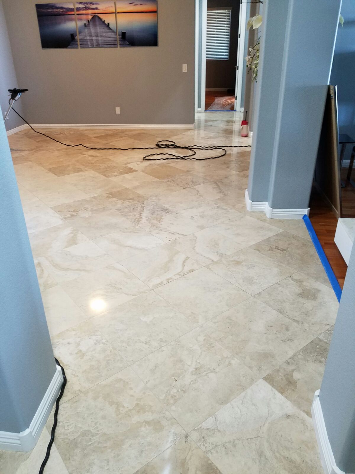 Kitchen Floor Restoration LV NV