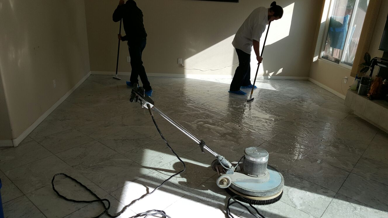 Silver State Floor Restoration - Queensridge Place, NV