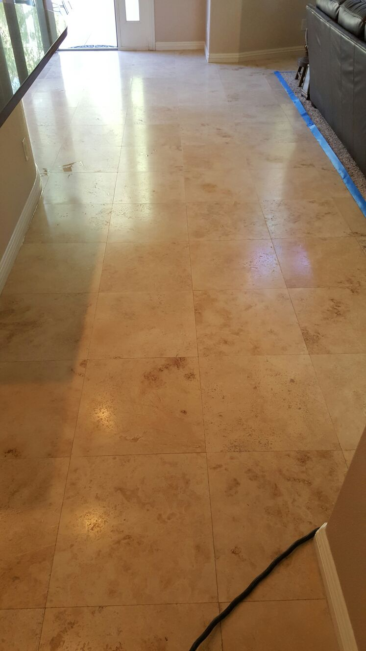 Silver State Floor Restoration - Turnberry Tower, NV
