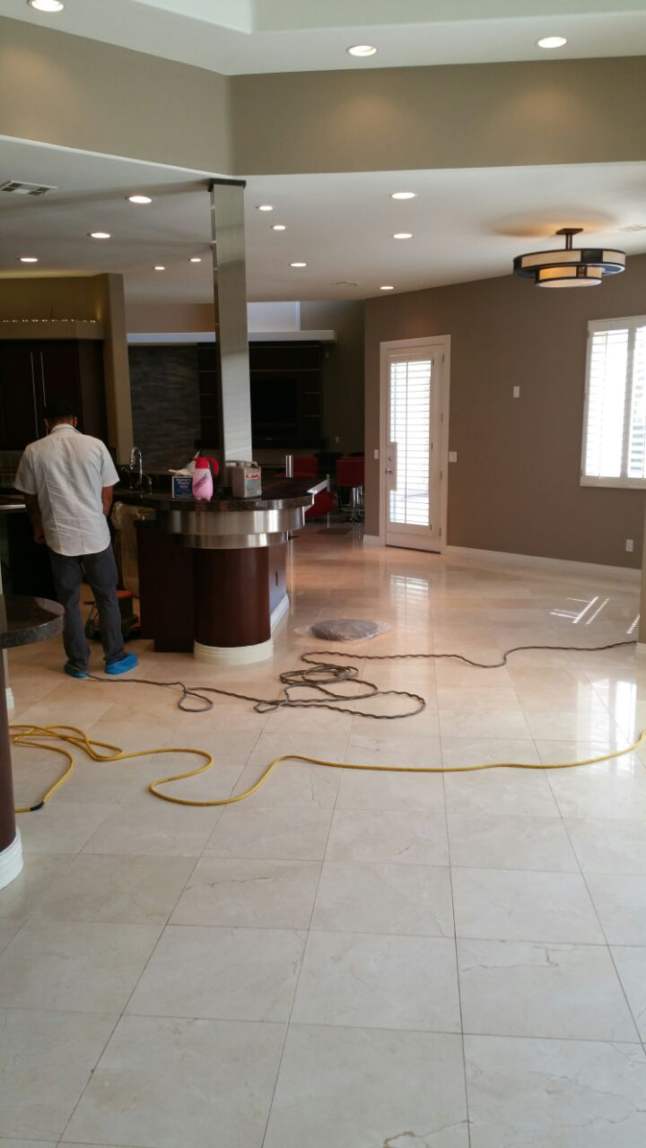 Ceramic Tile Polishing