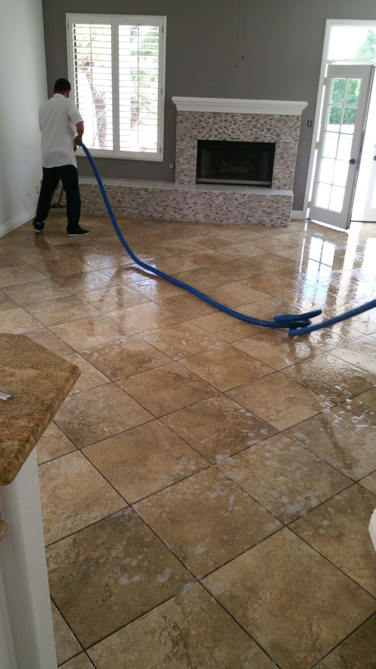 Vinyl Composite Tile Stripping Las Vegas