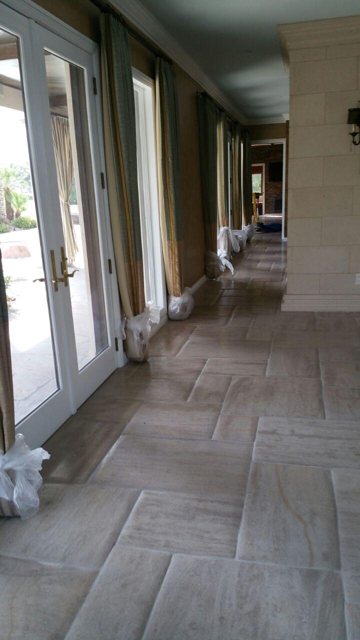 Travertine Honing LV