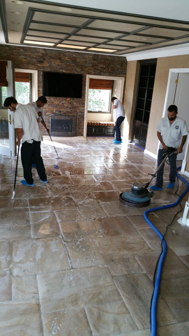 Travertine Sealing LV