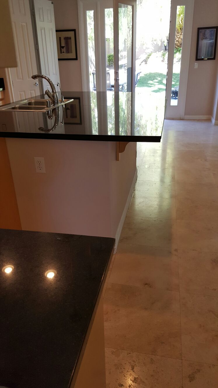 Silver State Floor Restoration - Canyon Gate, NV