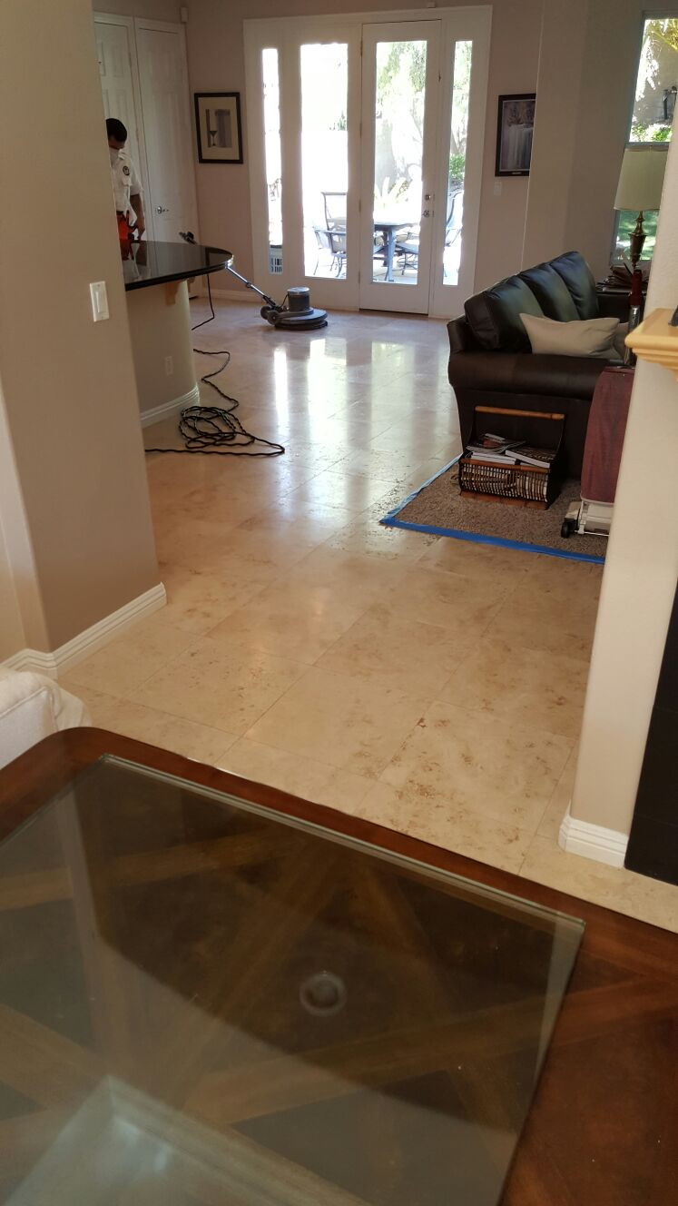 Silver State Floor Restoration - Lake Las Vegas, NV