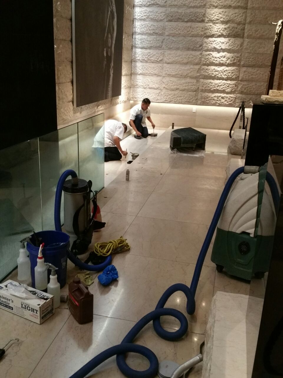 Bathroom Floor Restoration Las Vegas NV