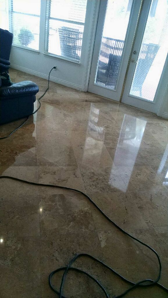Travertine Refinishing