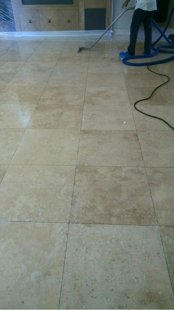 Kitchen Floor Honing