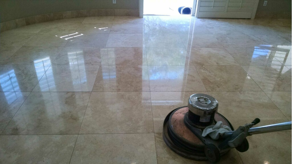 Bathroom Floor Refinishing