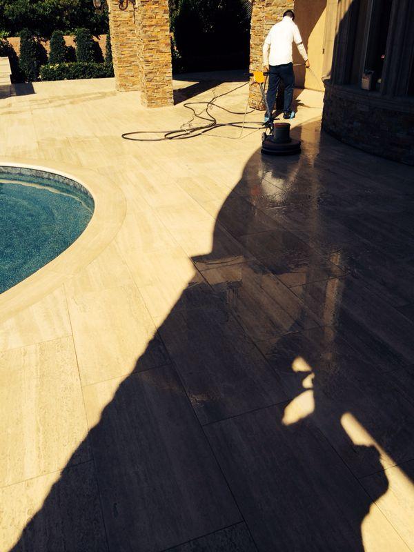 Hard Floor Restoring Las Vegas