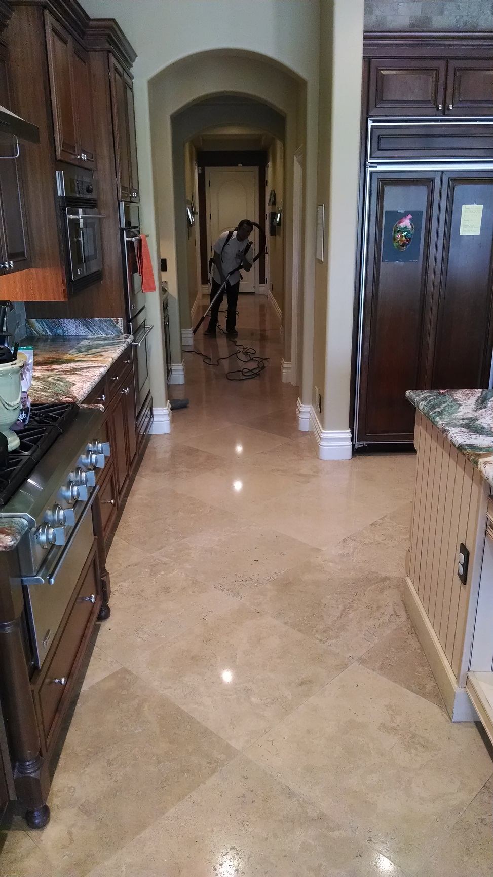 Kitchen Floor Restoration Las Vegas