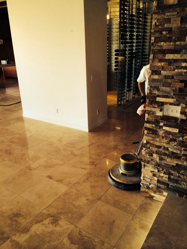 Kitchen Floor Refinishing Las Vegas