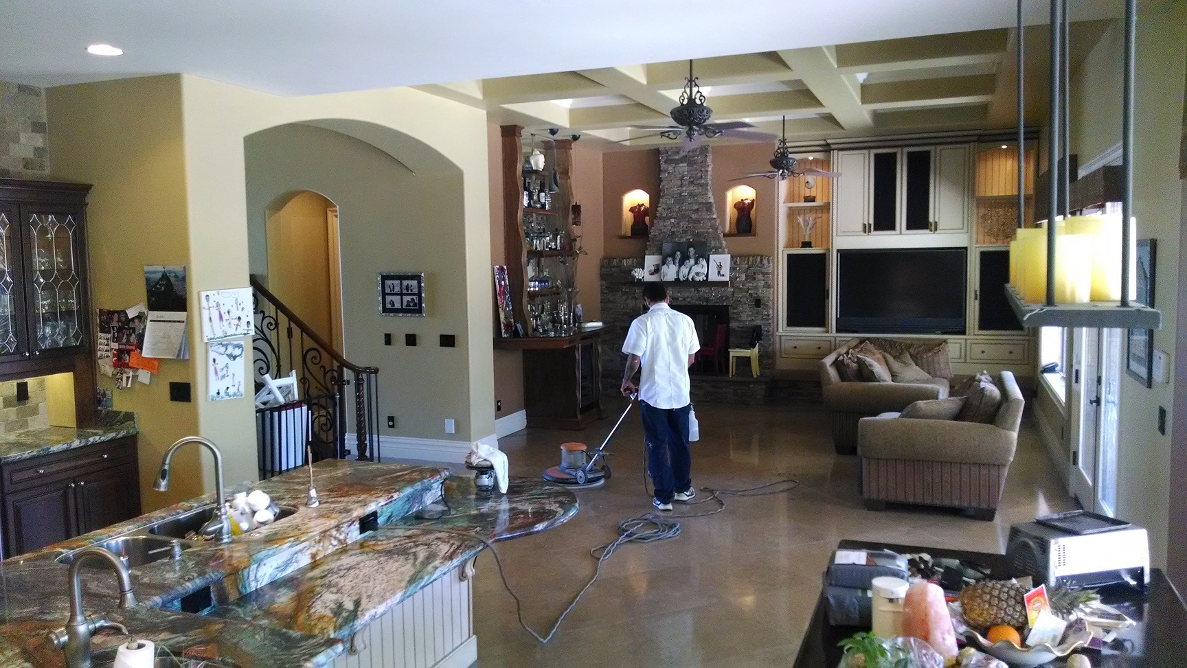 Bathroom Floor Restoration Las Vegas