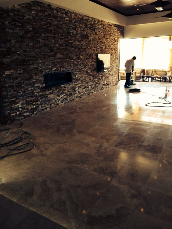 Travertine Sealing Las Vegas NV