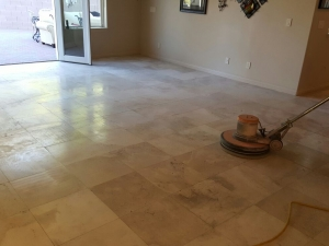 Silver State Floor Restoration - Red Rock Country Club, NV