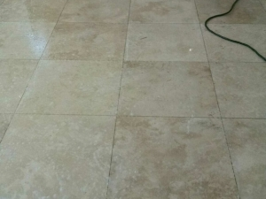 Kitchen Floor Honing