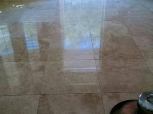 Bathroom Floor Polishing